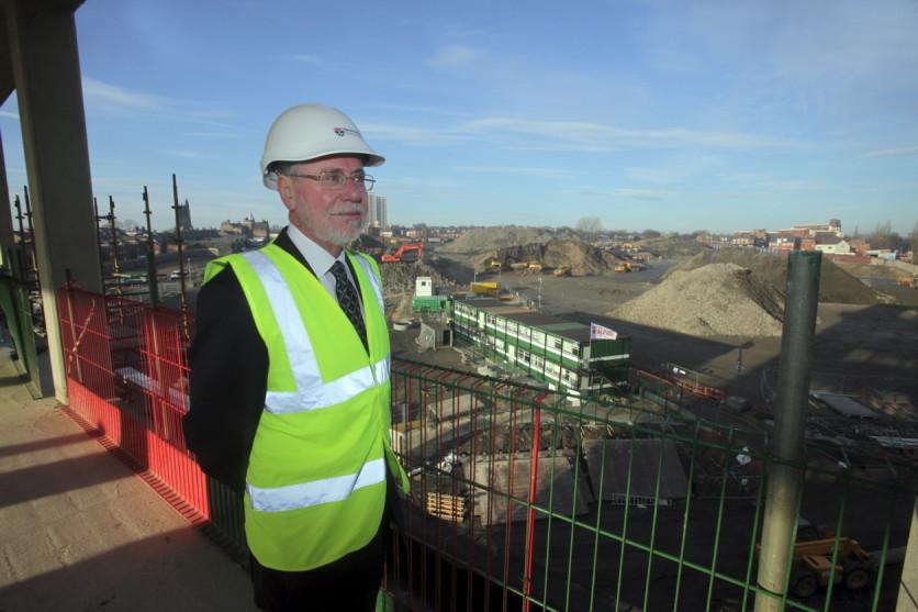 Professor Chris Brink, Vice-Chancellor at Newcastle University